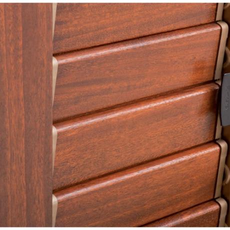 persiane in alluminio tinta legno