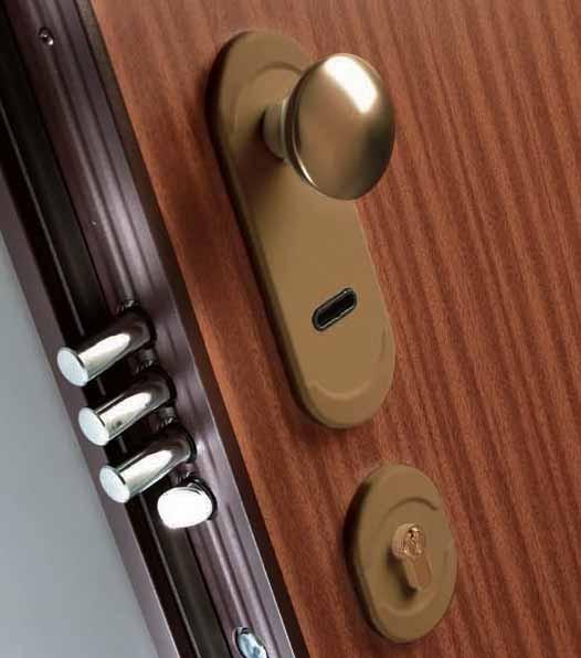 porta blindata Dierre Double 8 serratura